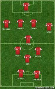 Orient's Starting Formation