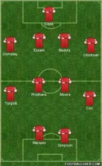 Orient 1st half vs Oxford
