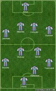 Newcastle 1st half