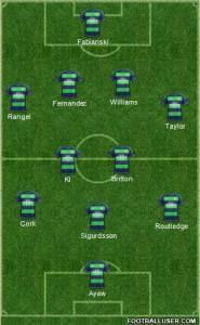 Swansea 1st half