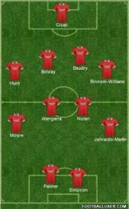 Orient at Carlisle 2nd half