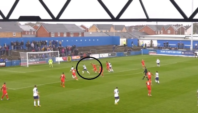 caprice dodgy marking at barrow 2